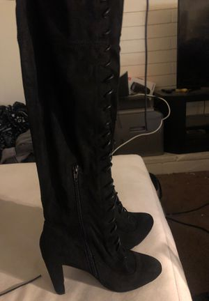 Black high boots for Sale in San Diego, CA