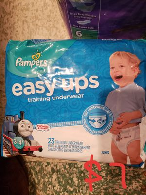Pampers easy ups for Sale in Dearborn Heights, MI