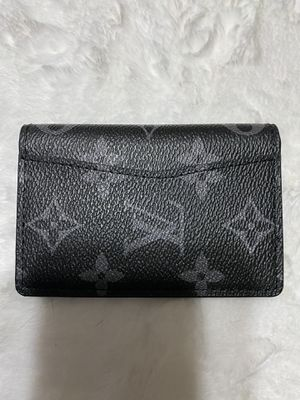Leather black LV bifold wallet for Sale in North Brunswick Township, NJ