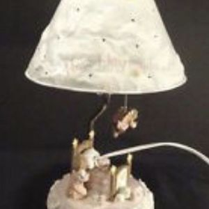 Romance Inc Now I Lay Down To Sleep Prayer Baby Nursery Lamp. Brand New for Sale in Sterling Heights, MI