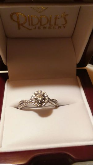 Half carat diamond ring 14 karat gold for Sale in Mitchell, SD