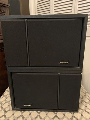 Bose 201 book shelf speakers for Sale in Middletown, NJ