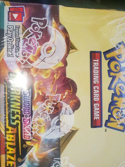 Pokémon DARKNESS ABLAZE BOOSTER BOX for Sale in Newberg,  OR