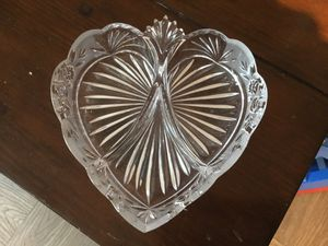Heart Shaped Candy Dish, 8 inches by 8 inches. for Sale in McLean, VA