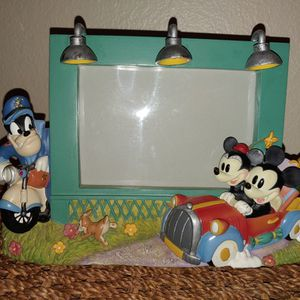 Mickey/Minnie Picture Frame for Sale in Nipomo, CA