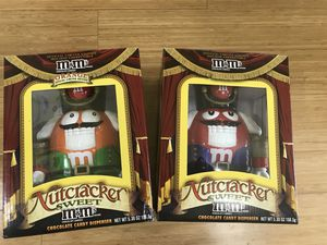 2 M&M's Nutcracker Sweet Candy Dispenser Limited Edition for Sale in Penllyn, PA