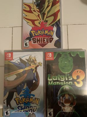 Switch games for Sale in Pomona, CA