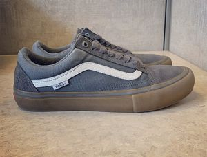 Vans Old Skool Grey Size 8.5 for Sale in Mount Prospect, IL