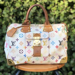 AUTH LOUIS VUITTON SPEEDY 30 HAND BAG PURSE WHITE MONOGRAM for Sale in San Diego, CA