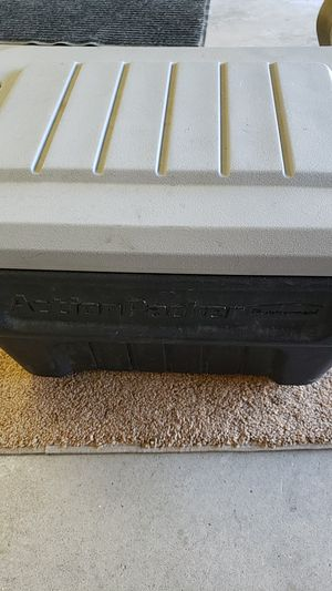 Action Packer Rubbermaid storage container for Sale in Highland, CA