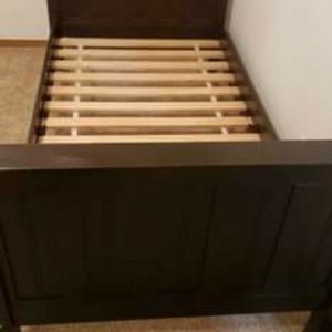 Wood Twin Bed Frame for Sale in Port Orchard, WA