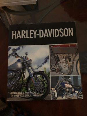 Harley- Davidson book for Sale in Grosse Pointe Shores, MI