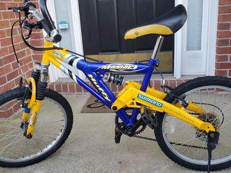"HUFFY Maniac Dual Suspension 20"" Kid's Mountain Bike for Sale in Duluth,  GA"