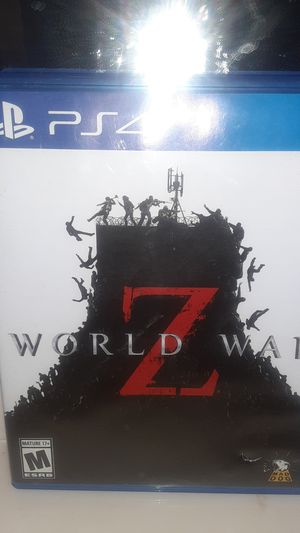 World War Z for Sale in Victorville, CA