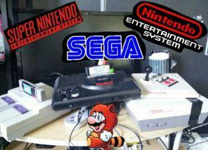 Sega, super nintendo, nintendo for Sale in Miami, FL
