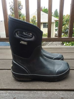 Bogs mid handle rain boots, women's, Size 8 for Sale in Portland, OR