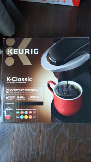 BRAND NEW Keurig K-Classic Single Serve Coffee Maker for Sale in San Gabriel, CA