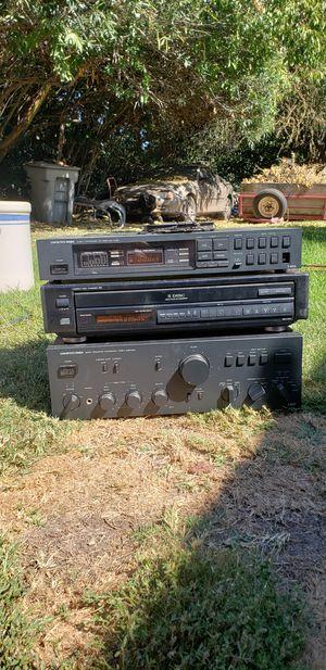 Onkyo Reciever, Disc changer & Amplifier for Sale in Stockton, CA
