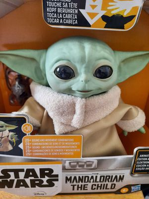 Mandalorian animatronic Baby Yoda (the child) for Sale in Los Angeles, CA