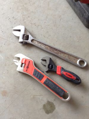 3 Wrenches, bottom one is a Black & Decker Automatic for Sale in Hudson, NH