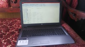 HP notebook tera bite hard drive fast with touch screen and tablet mode for Sale in Bakersfield, CA