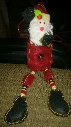 Christmas Decor Folk Art Snowman Crazy Legs for Sale in Hannibal, MO