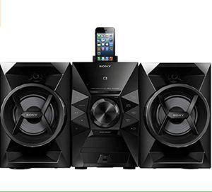 Home Music Audio System Sistema de Audio Musica Sony 120W MHCEC619iP for Sale in Miami, FL