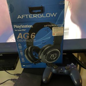 Ps4/Exteral Hard Drive/AG6 Headphones for Sale in Missouri City, TX