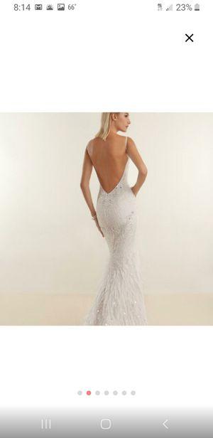 Demitrios off white 1920s vintage wedding dress size 10 (m) for Sale in Lake Stevens, WA