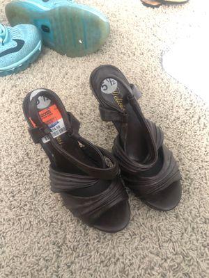 Brown heels for Sale in Virginia Beach, VA