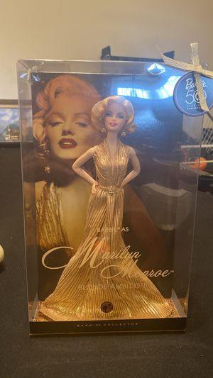 Marilyn Monroe BLONDE AMBITION BARBIE for Sale in Grand Prairie, TX