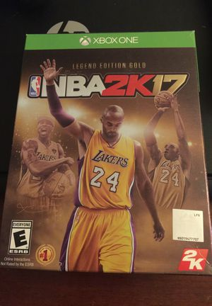 XB1 2k17 Legend Edition Gold for Sale in Columbus, OH