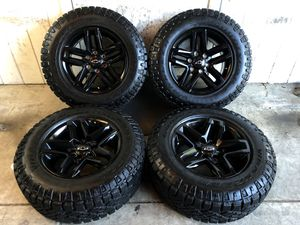 "2019 Chevy Tahoe Suburban Silverado 18"" TRAIL BOSS Wheels Rims Tires LT275/65/20 NEW for Sale in Santa Ana, CA"