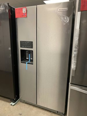 Brand New! Stainless Steel KitchenAid Refrigerator!1 Year Manufacturer Warranty Included for Sale in Gilbert, AZ
