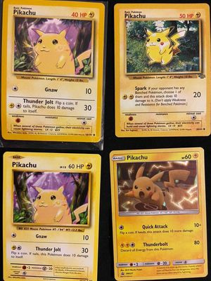 Pokemon cards pikachu base set for Sale in Lynwood, CA