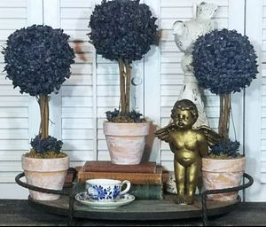 14.5 inch unique Blueberry Topiary set for Sale in Orlando, FL