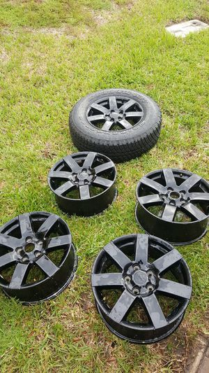 Oem 2014 jeep wrangler wheels for Sale in Orlando, FL