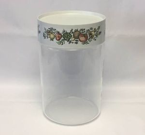 Vintage Pyrex Spice of Life See N Store glass kitchen canister storage container for Sale in Phoenix, AZ