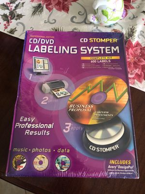 CD LABELING SYSTEM NEVER OPENED for Sale in Fort Myers, FL