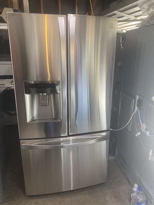 Like new conditions refrigerator Kenmore 3 doors for Sale in Fresno, CA