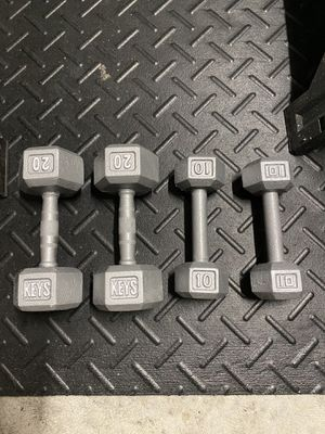 Iron Dumbbells for Sale in St. Cloud, FL