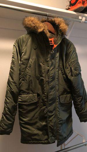 Alpha industry jacket parka cold weather for Sale in Irvine, CA