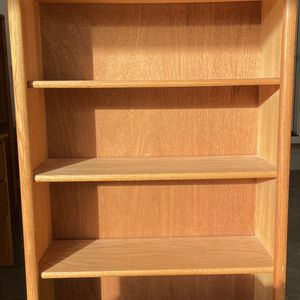 Wood Bookshelves (Light Oak) - Quantity: 2 for Sale in Vancouver, WA