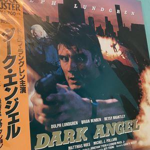 I Come In Peace aka Dark Angel *NTSB Japan Laser Disc* for Sale in Glendora, CA