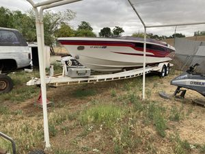 1977 28ft scarab haul trailer hull for Sale in Anaheim, CA
