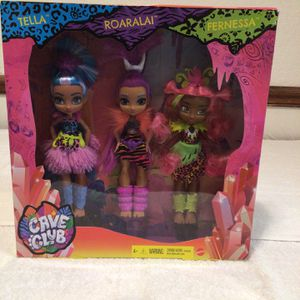 Cave Club Set 3 Dolls Brand New In Box for Sale in San Jose, CA