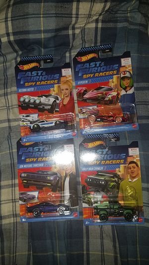 2020 hot wheels fast&the furious spy racers complete set for Sale in Everett, WA