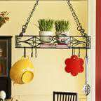 Pier1 Imports pots and pans hanging rack for Sale in Salt Lake City, UT