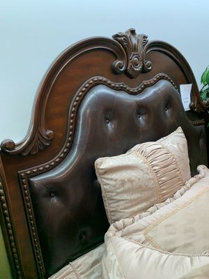 🔔Same Day Delivery🔔☄Shock price☄Dede Palace Brown Queen Bedroom Set | B718 for Sale in Jessup, MD