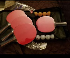 Ping Pong Paddles Set for Sale in Barstow, CA
